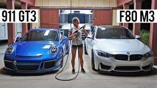 Download Porsche 991 GT3 Vs. F80 BMW M3 - First Drive Video