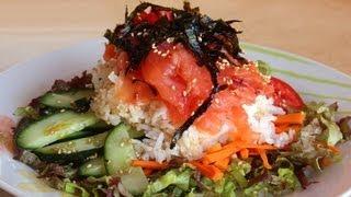 Download Raw fish bibimbap (Hoedeopbap: 회덮밥) Video