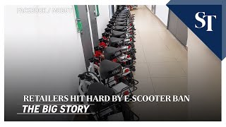 Download THE BIG STORY: Retailers hit hard by e-scooter ban   The Straits Times Video