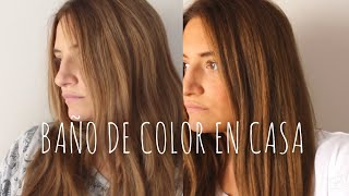 Download CÓMO hacer un BAÑO DE COLOR con TINTE NORMAL | Sara Bruno Video