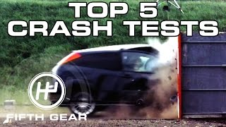 Download Top 5 Crash Tests - Fifth Gear Video