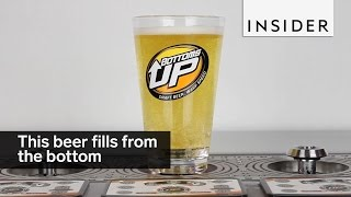 Download This beer fills from the bottom Video