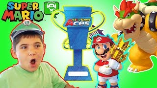 Download MARIO TENNIS ACES! Nintendo Skit and Gameplay by HobbyGaming Video