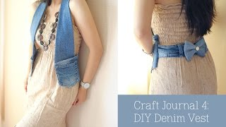 Download Craft Journal 4 : Denim Vest DIY Video