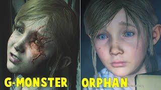 Download Orphan Sherry Transforming to G-Monster FULL STORY - Resident Evil 2 Remake 2019 Video