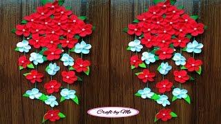 Download Cara Membuat Bunga Gantung dari Kain Flanel yang Mudah    Wall Decoration    Room Decor Video