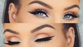 Download How To: Perfect Winged Eyeliner Every Time | Cat Eye Tutorial Video