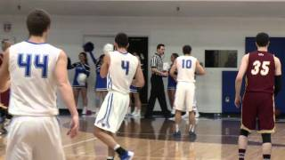 Download IPFW's John Konchar MONSTER two handed dunk Video