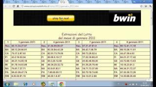 Download metodo lotto ″ambo pazzo″ Video