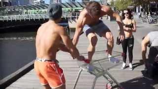 Download Jeff Seid in Melbourne Australia ft. Chestbrah, Johnny Star, Alon Gabbay, GymShark Video