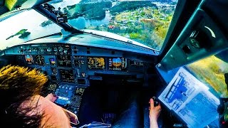 Download Piloting A320 into beautiful Bergen! Video