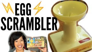 Download 1970s ELECTRIC Egg SCRAMBLER - a spinning needle egg beater | VINTAGE Does it Work? Video