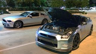 Download V6 Mustang SMOKES a 720hp GT-R!!! Video
