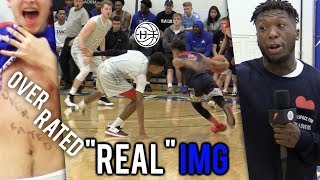 Download ″OVERRATED″ Julian Newman BREAKS ANKLES VS ″REAL″ IMG! CROWD MOCKING HIS HEIGHT! 35 Pts Video