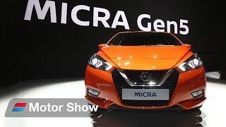 Download 2017 Nissan Micra at Paris Motor Show - First Look Video