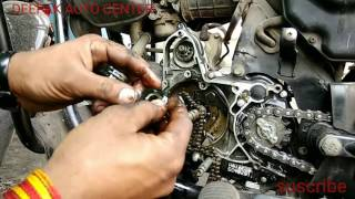 Download HERO HONDA REPLACE TAIMING CHAIN Video