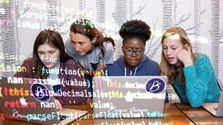 Download Northwestern entrepreneur helps girls build coding confidence Video