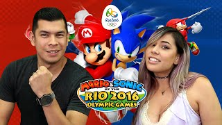 Download WHO'S THE BEST OLYMPIC PLAYER?! Husband vs Wife - Mario & Sonic Rio Olympics 2016 Video