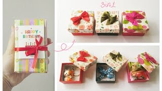 Download Birthday Gift Ideas For Friend | cute, easy | 3 in 1 Video