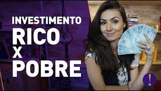 Download Investimento de POBRE e INVESTIMENTO DE RICO! Como você investe? Video
