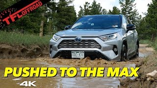 Download We Take The 2019 Toyota RAV4 Hybrid To The LIMIT Off-Road Deep In The Mountains Video