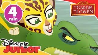 Download Angriff der Krokodile - Die Garde der Löwen | Disney Junior Kurzgeschichten Video