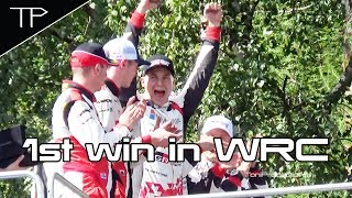 Download Esapekka Lappi - The winner of WRC Neste Rally Finland 2017 Video
