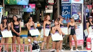 Download Bangla Road in the Daytime - Phuket, Thailand Video
