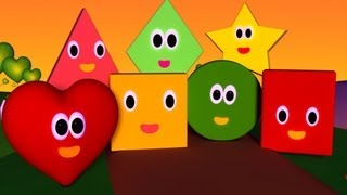 Download The Shapes Song | Nursery Rhymes | Nursery Rhymes With Lyrics Video