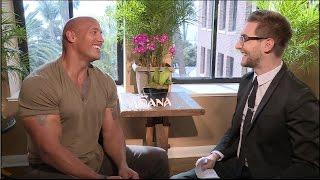 Download MOANA interviews - Dwayne THE ROCK Johnson, Lin-Manuel Miranda, Auli'i - Star Wars, Hamilton Video