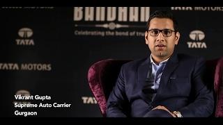Download Tata Motors Bandhan: Vikrant Gupta, Supreme Auto Carrier Video