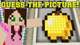 Download Minecraft: CAN YOU GUESS THE PICTURE?!? (GUESS THE FALLING BLOCKS!) Mini-Game Video