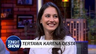 Download Pevita Geli Melihat Desta Kaget saat Cerita Mistis Video