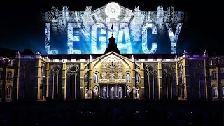 Download LEGACY - Projection Mapping on Palace of Karlsruhe for Schlosslichtspiele 2016 by Maxin10sity (4K) Video