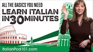 Download Learn Italian in 30 Minutes - ALL the Basics You Need Video