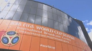 Download Broadcasting centre for World Cup opens in Moscow Video