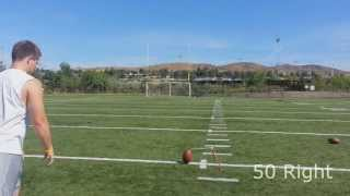 Download College Field Goal Kicker - Before & After Lesson with Coach Brent Video