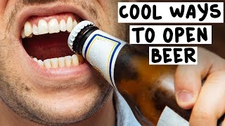 Download 7 Cool Ways to Open Beer - Tipsy Bartender Video