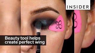 Download Beauty tool helps create the perfect wing Video
