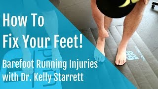 Download Barefoot Running injuries: How to Fix and Strengthen your Feet! Video