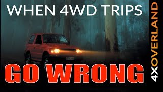 Download TAGALONG TROUBLE | WHEN 4WD TRIPS GO WRONG | Andrew St.Pierre White 4xOverland Video