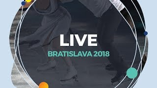 Download LIVE 🔴 | Men Free Skating | Bratislava 2018 Video