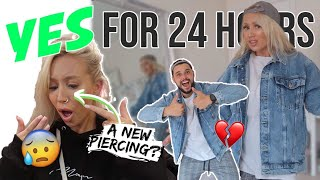 Download I Said YES to my BOYFRIEND for 24 HOURS! Video
