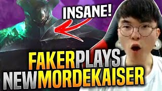 Download FAKER Plays NEW MORDEKAISER FIRST TIME! - When SKT T1 Faker First Time New Mordekaiser! | T1 Faker Video