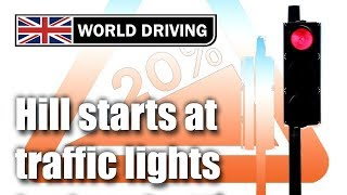 Download Hill starts at traffic lights - how to hill start perfectly Video