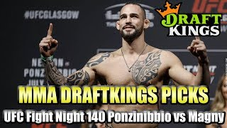 Download UFC Fight Night 140 Ponzinibbio vs Magny - DraftKings MMA Picks - 3 Pack Video