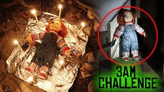 Download (GONE WRONG) ONE MAN HIDE AND SEEK WITH CHUCKY DOLL // 3 AM OVERNIGHT CHALLENGE GONE WRONG! Video
