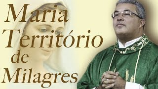Download Maria território de milagres - Pe Roger Luis (10/10/15) Video
