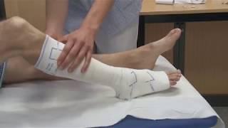 Download Comment utiliser les bandages de contention pour compression élastique varice Video
