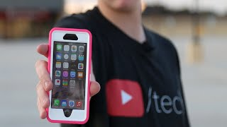 Download iPhone 6 Otterbox Survives 3-Story Drop Test! (w/ a Drone) Video
